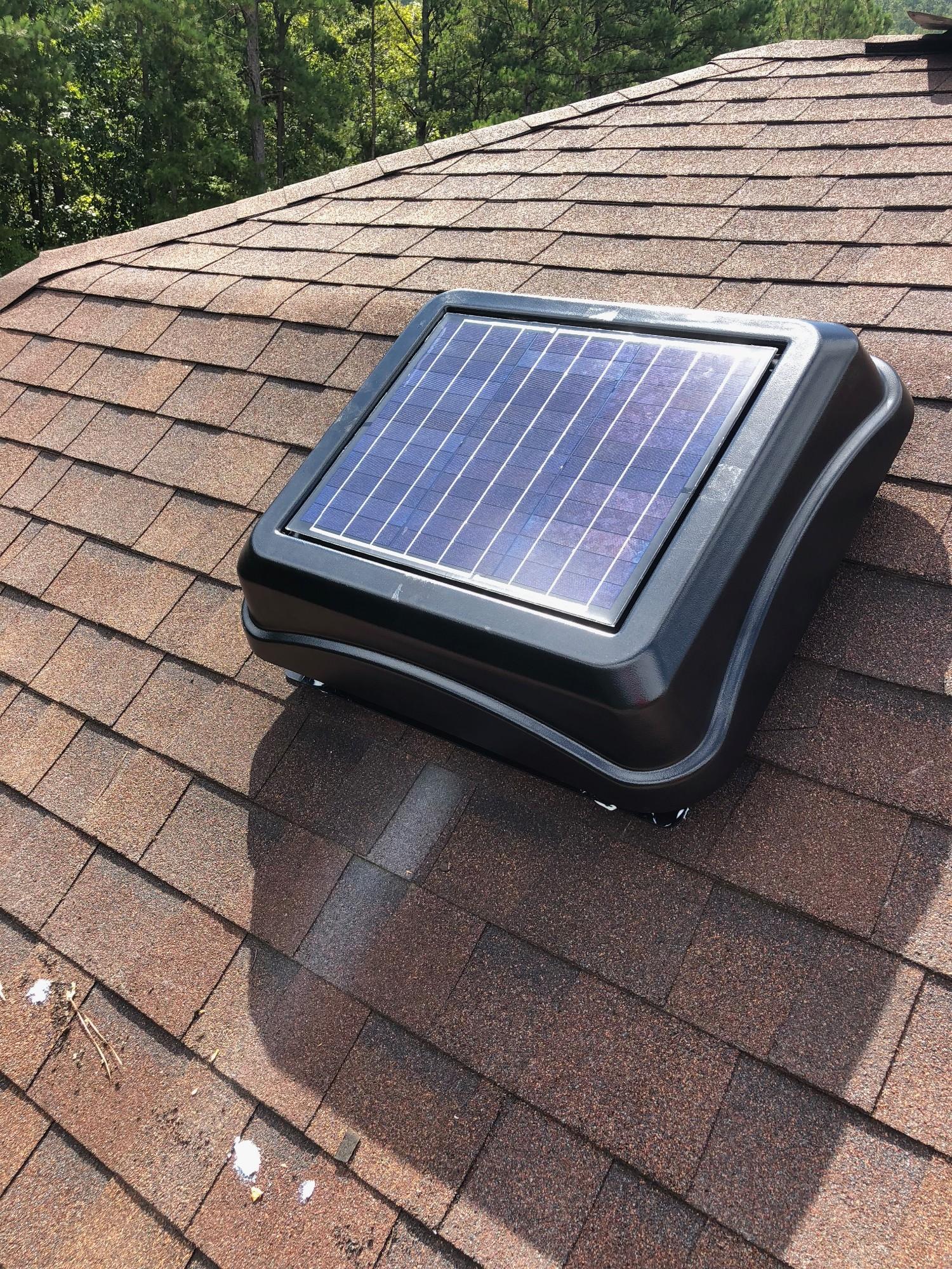 Douglas Cooling Amp Heating Solar Attic Fans