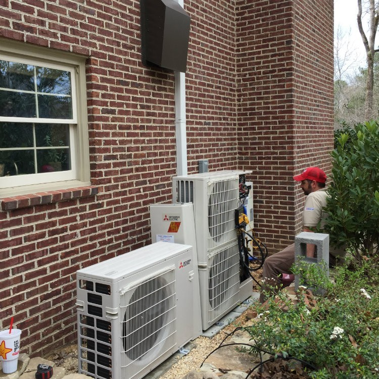 Ductless Mini Split Installation. New Ductless Install.  Ductless_Mini_Split. Ductless_Mini_Split