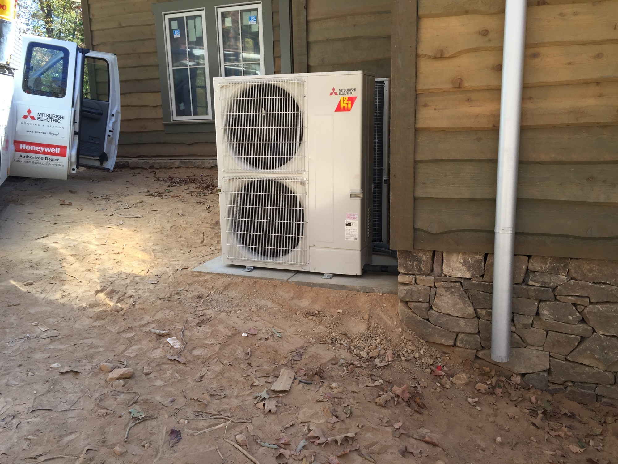 New Mitsubishi Hyper Heat Multi Zone Install In Shelby County