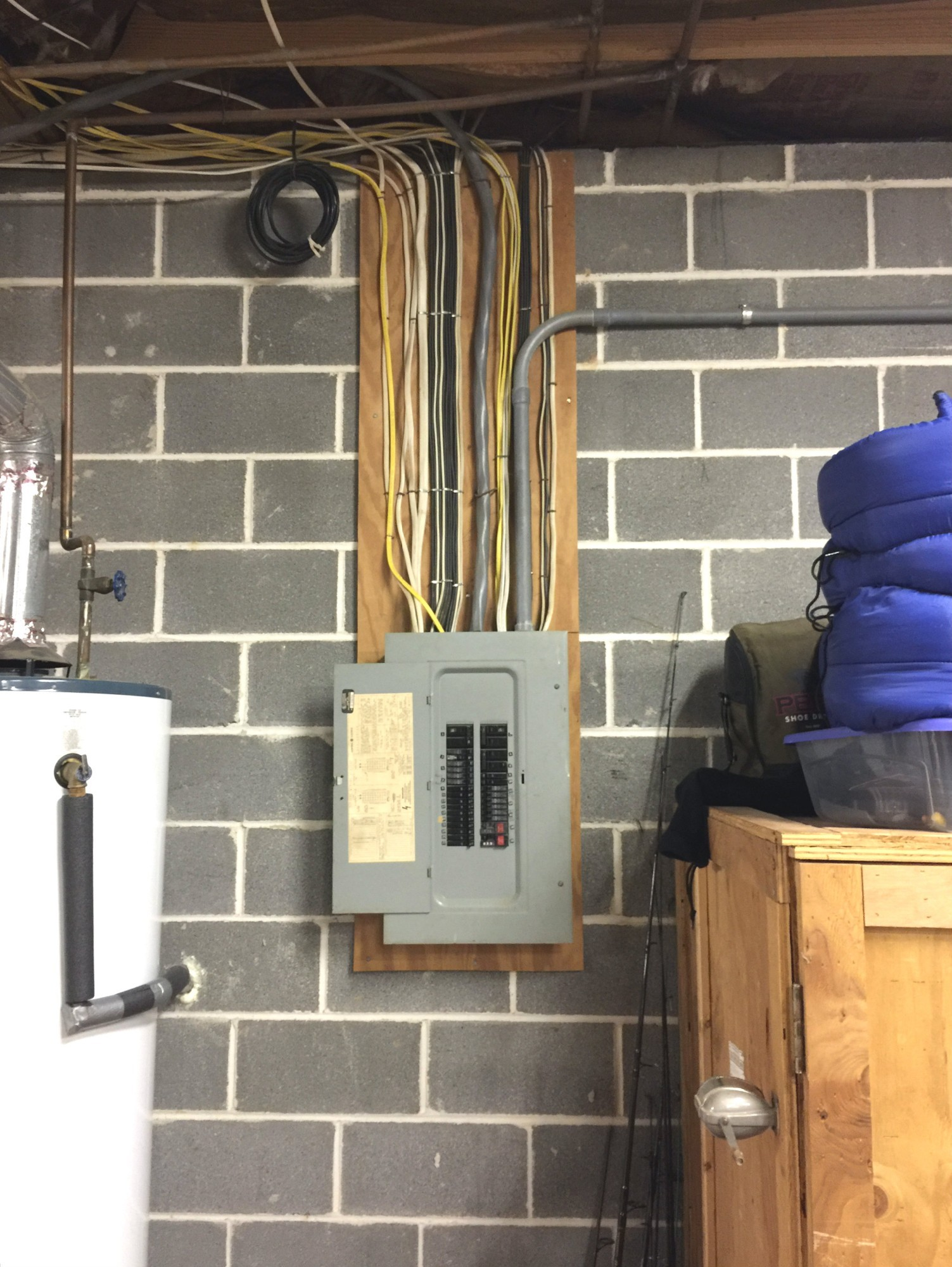 Electrical breaker panel inspection